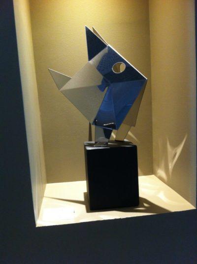 Petit Castagnole Poisson origami