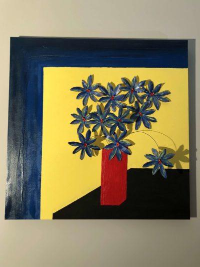 peintures sculptures design bouquet